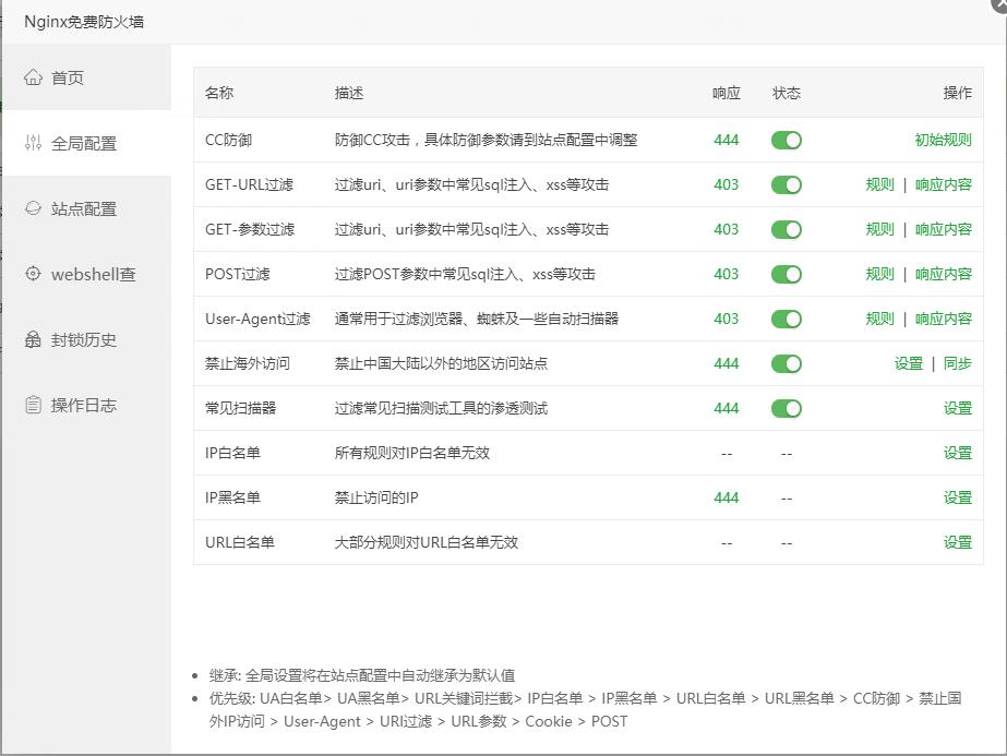 宝塔最新版添加cloudflare521和520错误